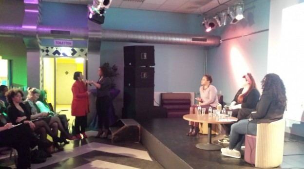 Guity Mohebbi Dagvoorzitter debatleider spreker
