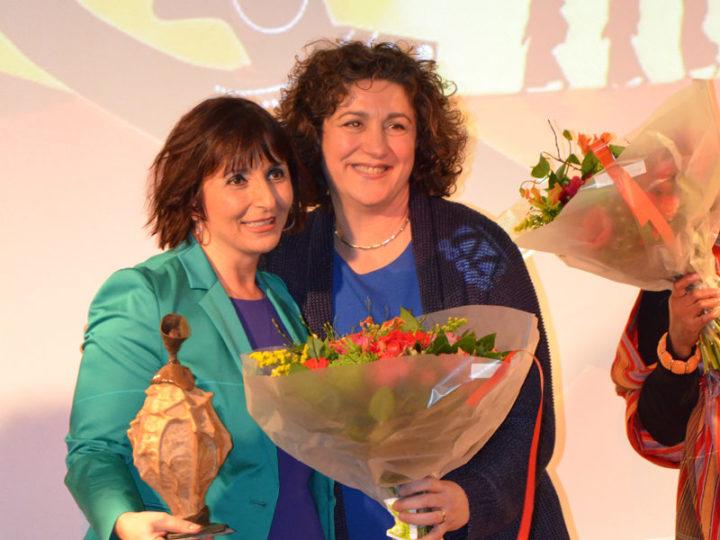 Zami Award: Volgens de Jury een prijs voor de kracht, inzet, kwaliteit en uniekheid om vrouwelijk leiderschap zichtbaar te maken.